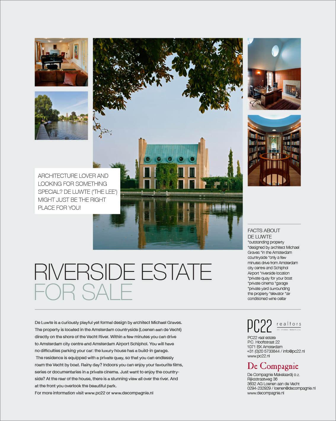 Riverside Estate For Sale